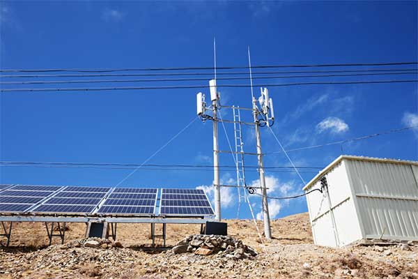 Solar Powered Mobile Tower-1