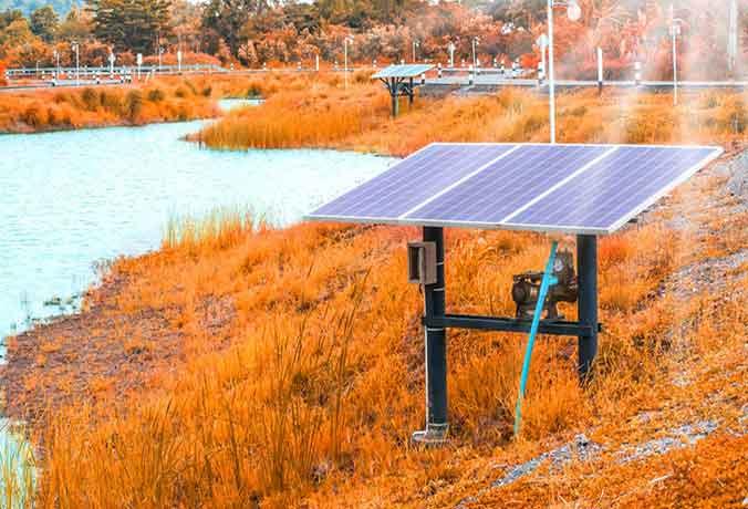 Paschim Gujarat - Solar water pump