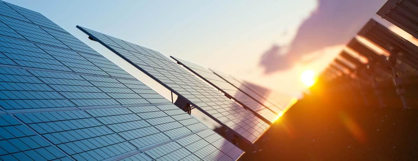 Solar panel banner - Solex